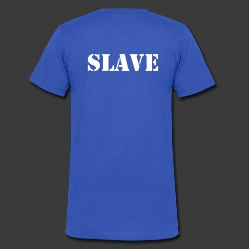 d01 backside - Men's V-Neck T-Shirt by Canvas