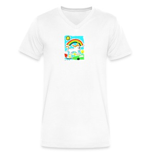 Unicorns are Magical Creatures The Make Electricit - Men's V-Neck T-Shirt by Canvas