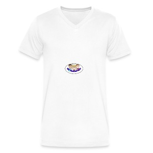ET VANLIG LIV - Men's V-Neck T-Shirt by Canvas