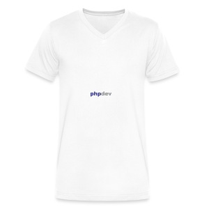 phpdev Products - Men's V-Neck T-Shirt by Canvas