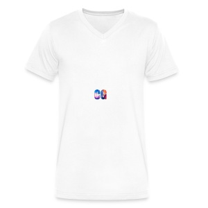 CG_Logo - Men's V-Neck T-Shirt by Canvas