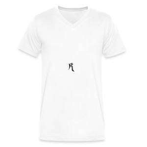 Rielle - Men's V-Neck T-Shirt by Canvas