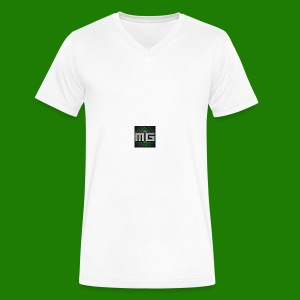 MrGreenGaming Logo Phone Cases - Men's V-Neck T-Shirt by Canvas