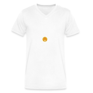 Flame (For cases and Cups) - Men's V-Neck T-Shirt by Canvas