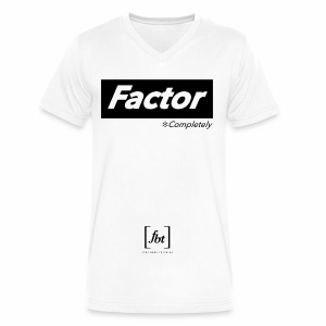 Factor Completely [fbt] - Men's V-Neck T-Shirt by Canvas