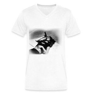 Revival Rehearsal - Men's V-Neck T-Shirt by Canvas