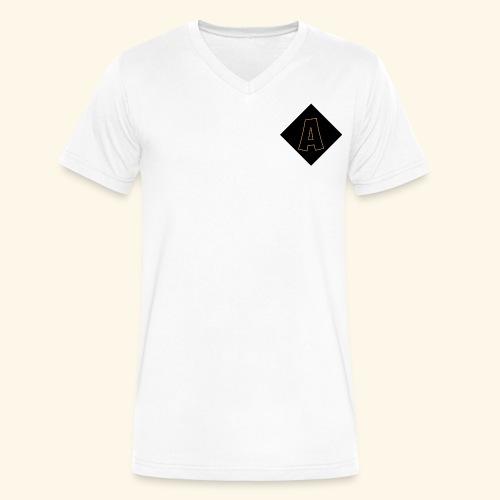 Adoni & Clo Logo - Men's V-Neck T-Shirt by Canvas
