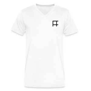 HUGE Logo - Men's V-Neck T-Shirt by Canvas