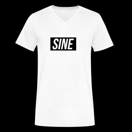 Sine - Men's V-Neck T-Shirt by Canvas