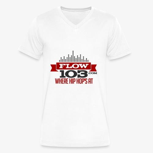 FLOW 103 - Men's V-Neck T-Shirt by Canvas