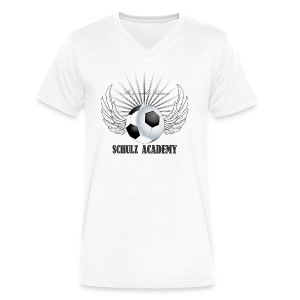 Play with Passion Schulz Academy - Men's V-Neck T-Shirt by Canvas