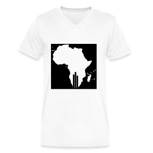 Tswa_Daar_Logo_Design - Men's V-Neck T-Shirt by Canvas