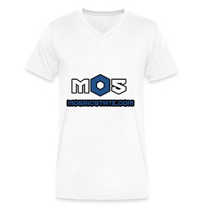 Mosaic State - Men's V-Neck T-Shirt by Canvas