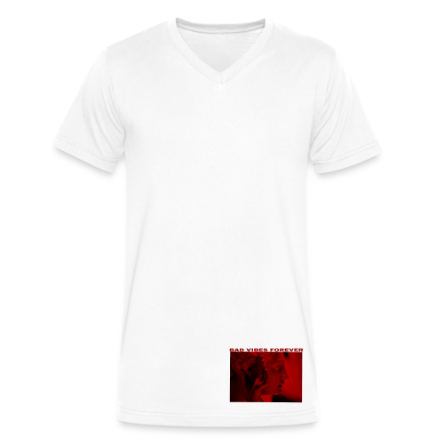ELIAAZZ - bad VIBES forever - Men's V-Neck T-Shirt by Canvas