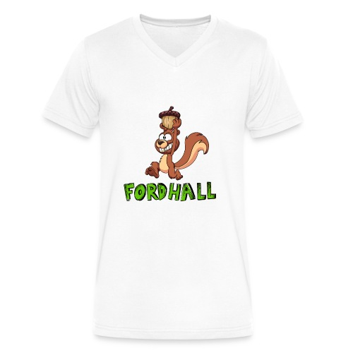 squirrel fordhall1 - Men's V-Neck T-Shirt by Canvas