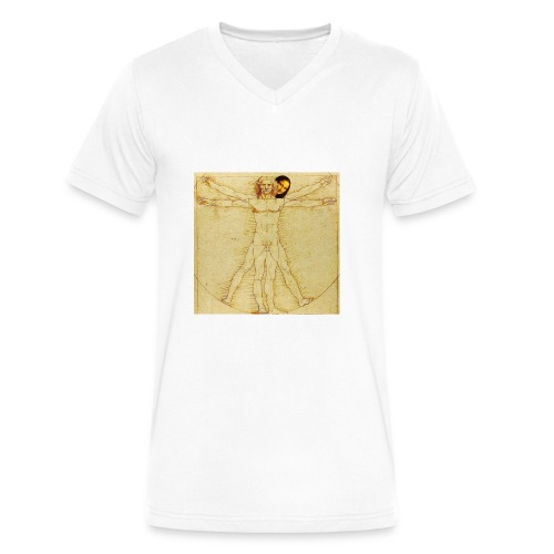 humanist - Men's V-Neck T-Shirt by Canvas