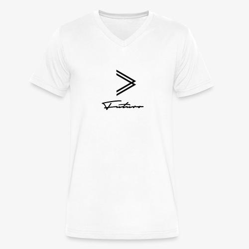Futuro - Men's V-Neck T-Shirt by Canvas