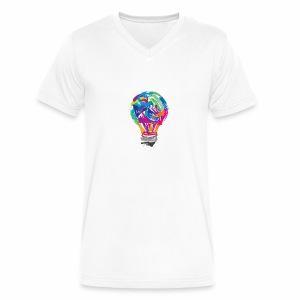 Creativity - Men's V-Neck T-Shirt by Canvas