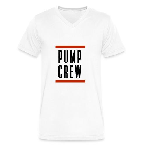 Pump_Crew_-_RUN_DMC - Men's V-Neck T-Shirt by Canvas