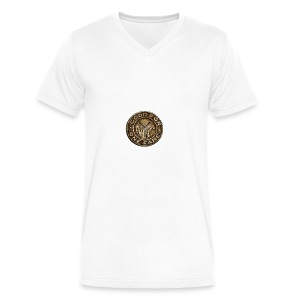 NYC Token - Men's V-Neck T-Shirt by Canvas