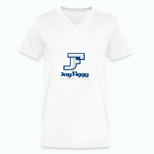 JayFiggyProductions - Men's V-Neck T-Shirt by Canvas