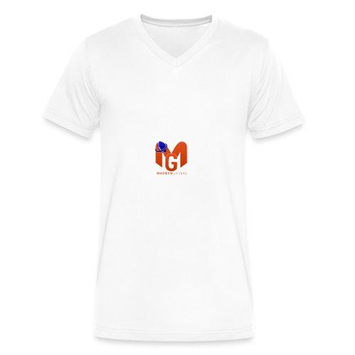 MaddenGamers MG Logo - Men's V-Neck T-Shirt by Canvas