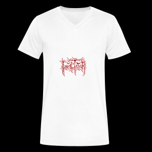 Funeral Terror - Official Merchandise - Men's V-Neck T-Shirt by Canvas