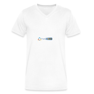TheAdsTeam Logo - Men's V-Neck T-Shirt by Canvas