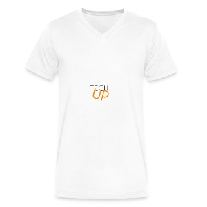 TechUp! - Men's V-Neck T-Shirt by Canvas
