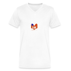 MaddenGamers MG Logo - Men's V-Neck T-Shirt by Canvas