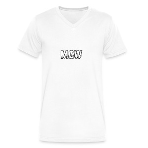 Hacker MGW - Men's V-Neck T-Shirt by Canvas