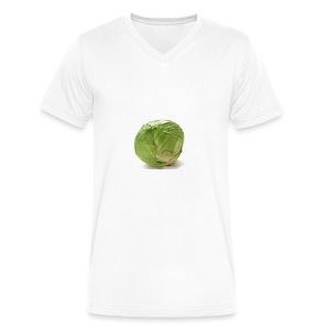 CabbageTexts Streetwear - Men's V-Neck T-Shirt by Canvas