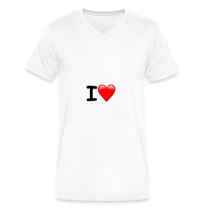 Screen Shot 2017 12 12 at 3 15 53 PM - Men's V-Neck T-Shirt by Canvas
