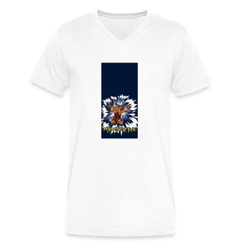 minotaur5 - Men's V-Neck T-Shirt by Canvas