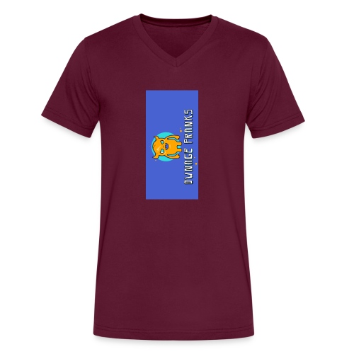 logo iphone5 - Men's V-Neck T-Shirt by Canvas