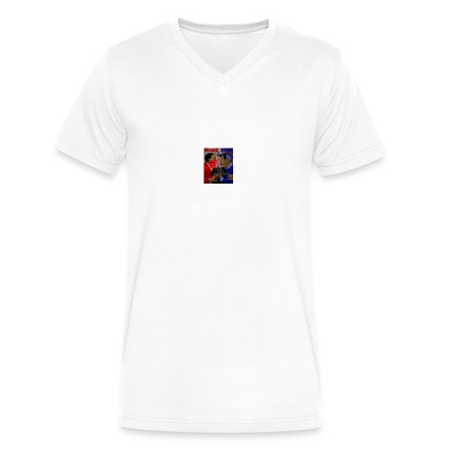 Bc - Men's V-Neck T-Shirt by Canvas