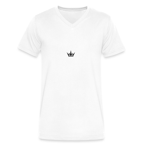 DUKE's CROWN - Men's V-Neck T-Shirt by Canvas