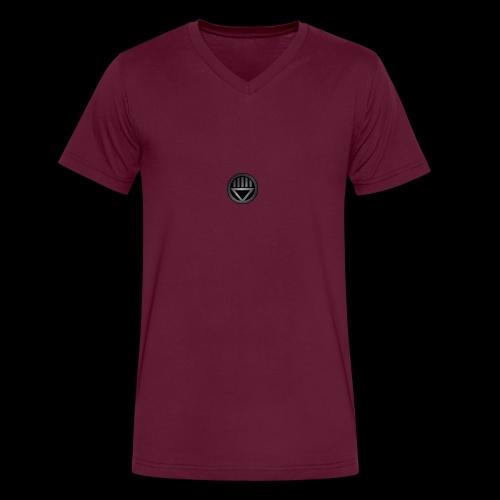 Knight654 Logo - Men's V-Neck T-Shirt by Canvas