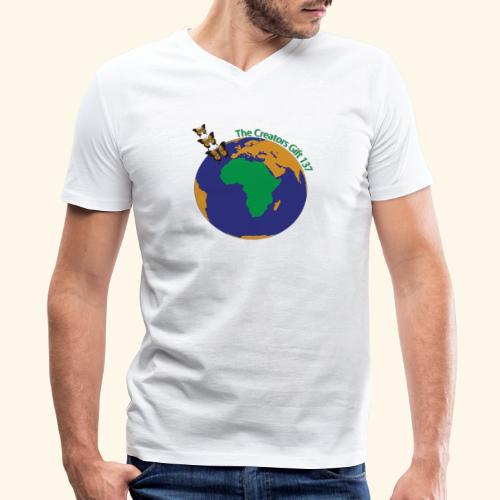 The CG137 logo - Men's V-Neck T-Shirt by Canvas