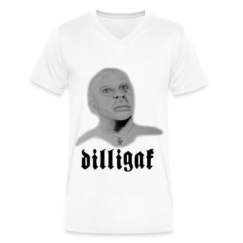 DILLIGAF - Men's V-Neck T-Shirt by Canvas