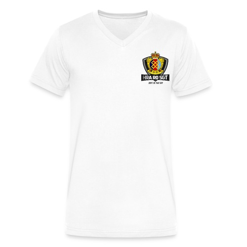 Allaire Dark - Men's V-Neck T-Shirt by Canvas