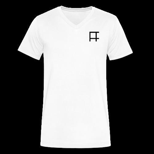 HUGE Logo - Men's V-Neck T-Shirt by Canvas