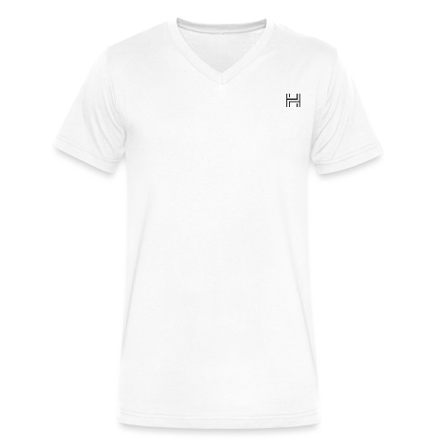 BIG H Invisible - Men's V-Neck T-Shirt by Canvas
