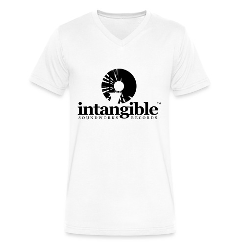 Intangible Soundworks - Men's V-Neck T-Shirt by Canvas