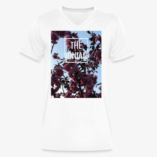 Floral Rose - Men's V-Neck T-Shirt by Canvas