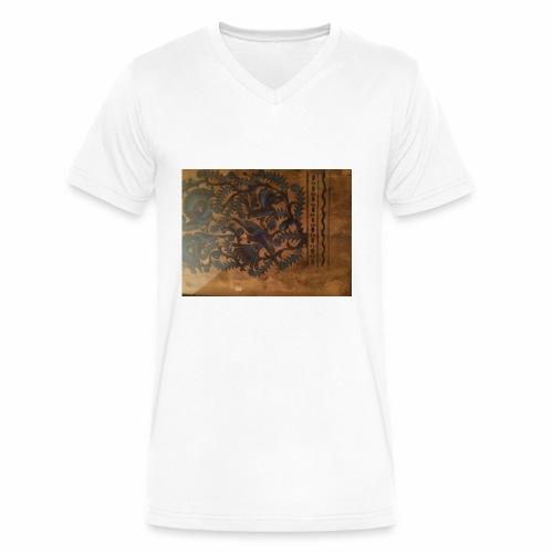 Dilfliremanspiderdoghappynessdogslikeitverymuchtha - Men's V-Neck T-Shirt by Canvas