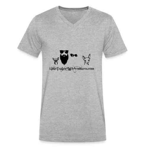 LTBA Heads Logo - Men's V-Neck T-Shirt by Canvas