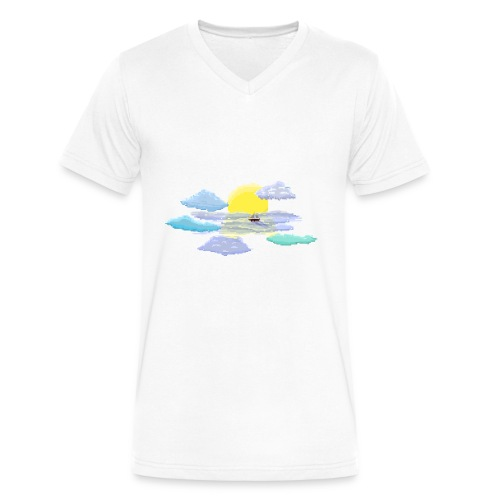 Sea of Clouds - Men's V-Neck T-Shirt by Canvas