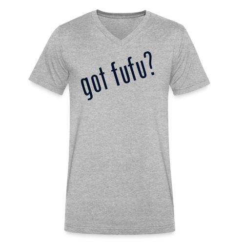 gotfufu-black - Men's V-Neck T-Shirt by Canvas