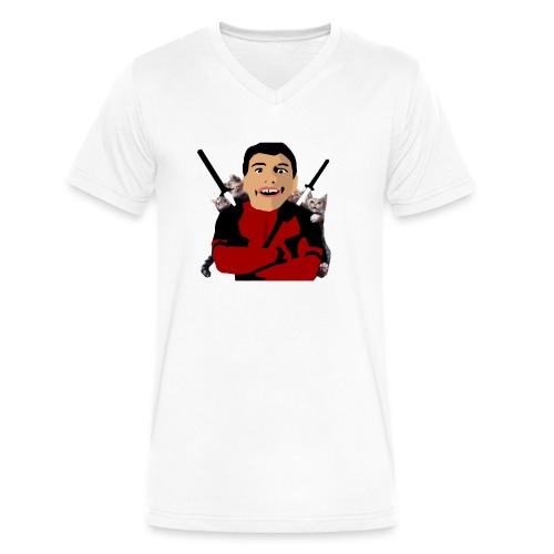 face reveal - Men's V-Neck T-Shirt by Canvas